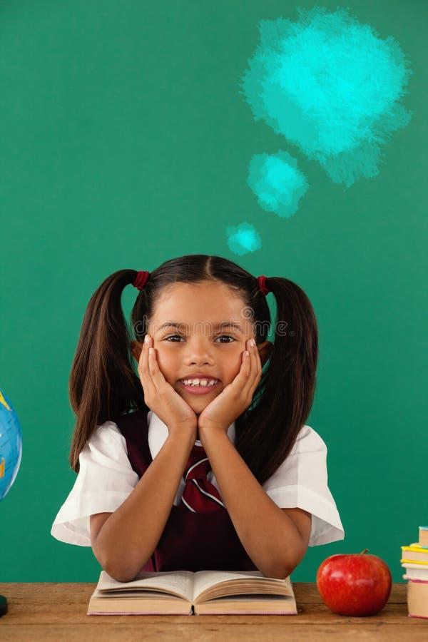 Immagine composita dell'immagine composita digitale della pittura di spruzzo blu immagine stock