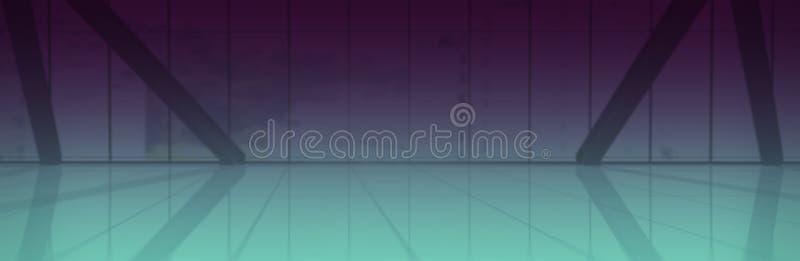 Immagine composita di fondo porpora e blu illustrazione vettoriale