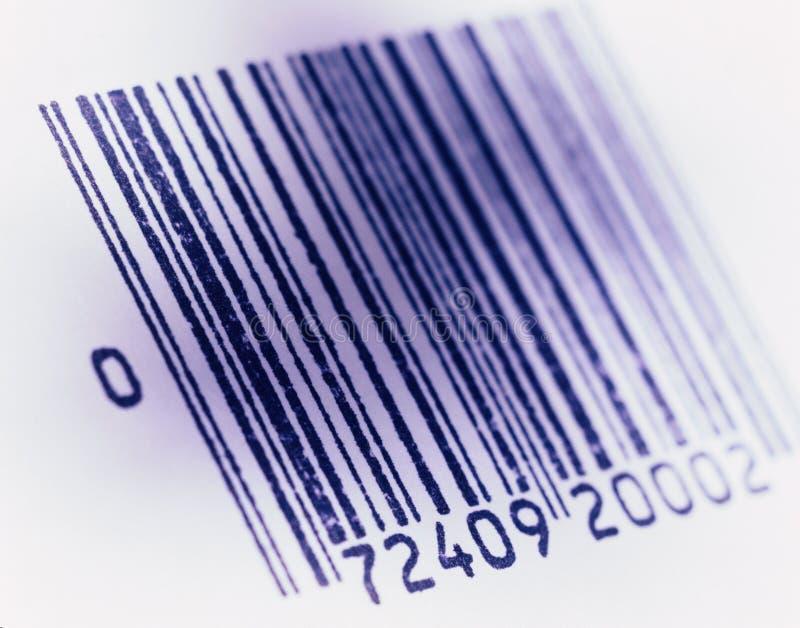 Immagine con codice con barre fotografia stock libera da diritti