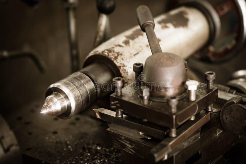 Immagine d'annata di stile delle macchine industriali fotografie stock