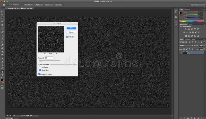 Immagine d'istruzione di Adobe PS immagine stock libera da diritti
