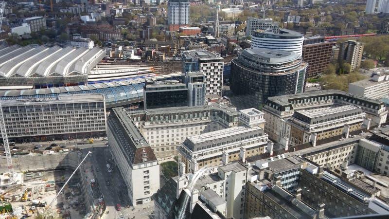 Immagine dall'occhio di Londra fotografie stock libere da diritti