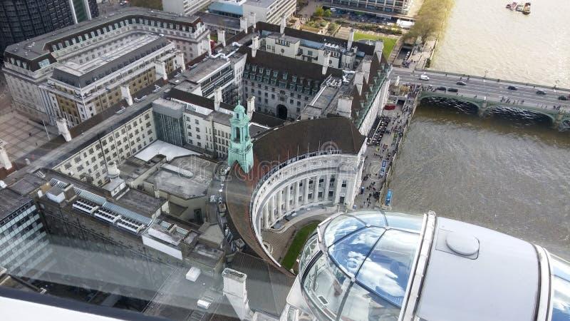 Immagine dall'occhio di Londra immagini stock