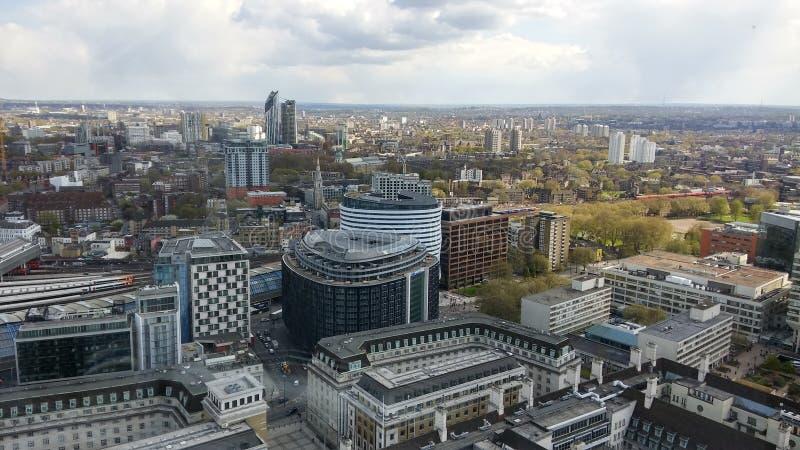 Immagine dall'occhio di Londra fotografia stock