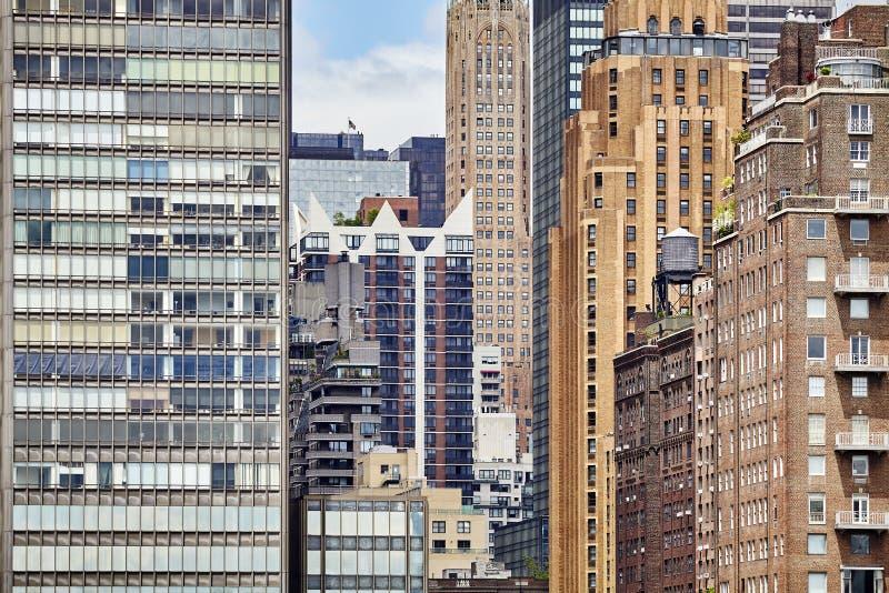 Download Immagine Degli Edifici Di New York Immagine Stock - Immagine di finestra, alto: 117977915