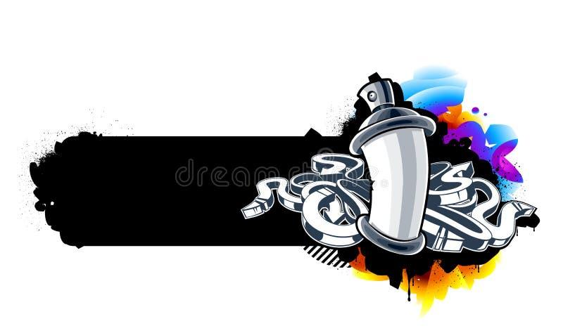 Immagine dei graffiti illustrazione vettoriale