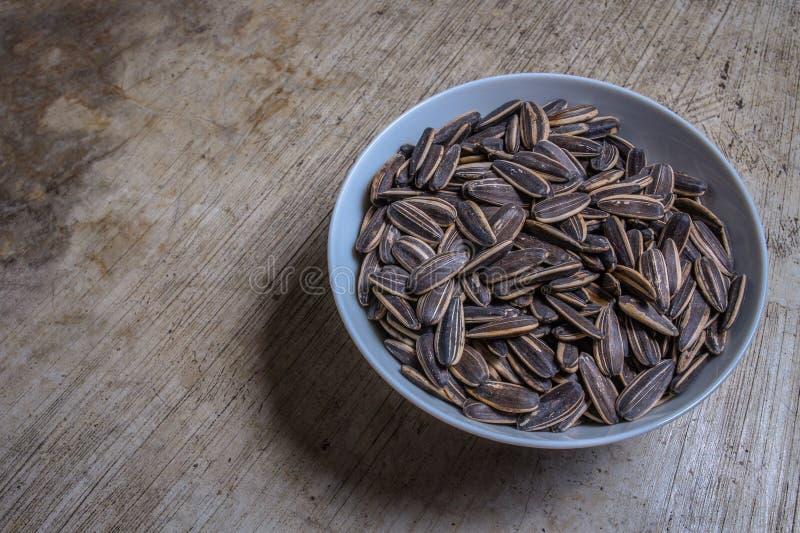 Immagine dei semi di girasole fotografie stock libere da diritti