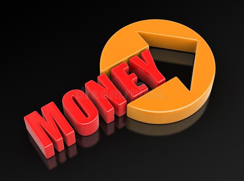 Immagine dei soldi del segno royalty illustrazione gratis