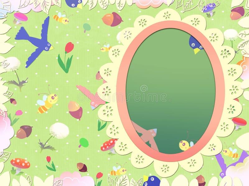 Immagine del libro dei bambini illustrazione vettoriale