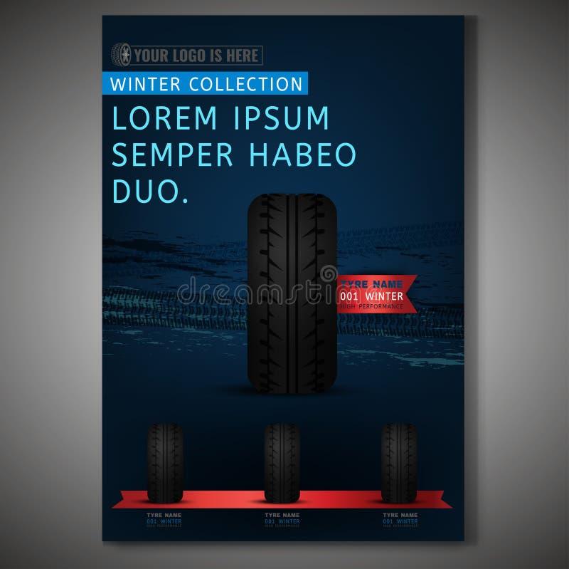 Immagine del manifesto di Tiro illustrazione di stock