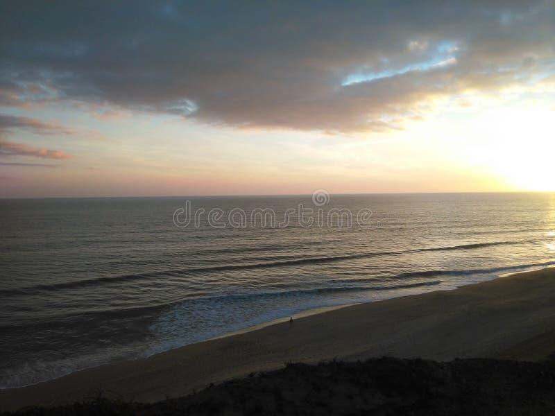 Immagine del mare in Europa meridionale fotografia stock
