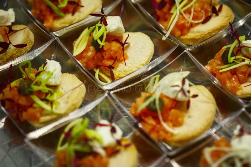 Immagine dell'alimento del foodsfinger del dito fotografia stock