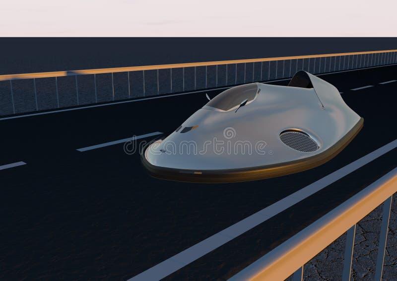 Immagine 6 dell'hovercraft dell'automobile immagini stock
