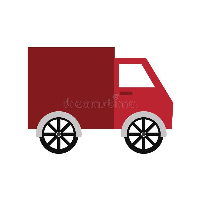 Immagine dell'icona del camion di consegna illustrazione di stock