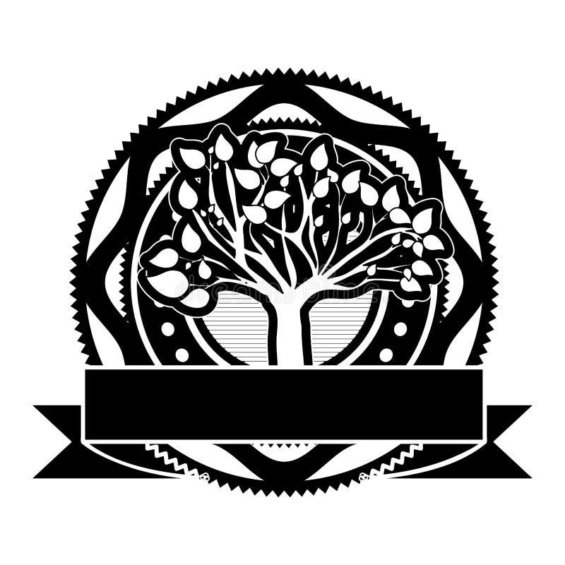 Immagine dell'icona dell'etichetta o dell'emblema royalty illustrazione gratis