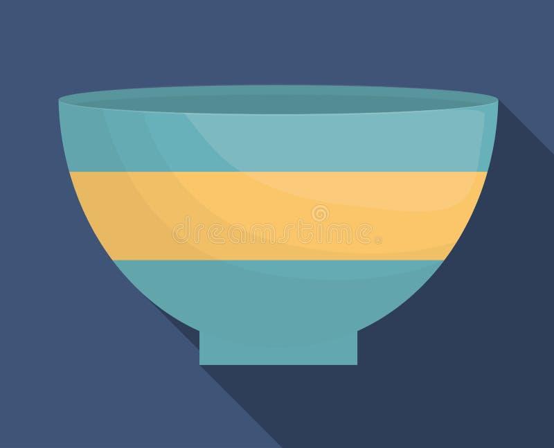 immagine dell'icona delle stoviglie della ciotola royalty illustrazione gratis