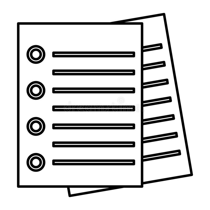 Immagine dell'icona di Checkist royalty illustrazione gratis