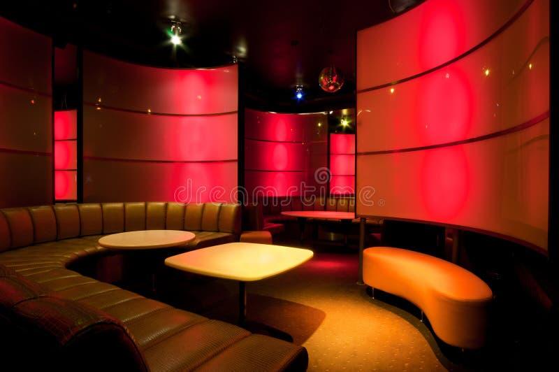 Immagine dell'interno del night-club immagine stock