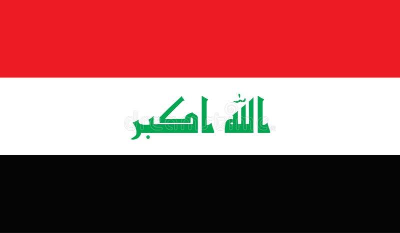 Immagine della bandiera dell'Iraq royalty illustrazione gratis