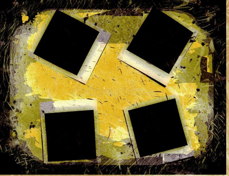 Immagine della fotografia di Grunge illustrazione di stock