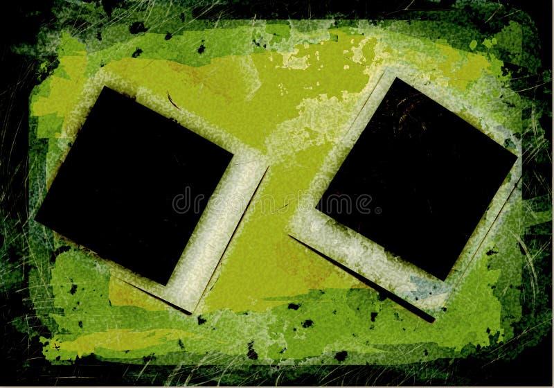 Immagine della fotografia di Grunge illustrazione vettoriale