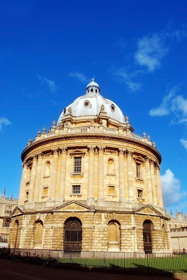 Immagine della macchina fotografica del radcliffe, Oxford, Regno Unito, biblioteca fotografia stock libera da diritti