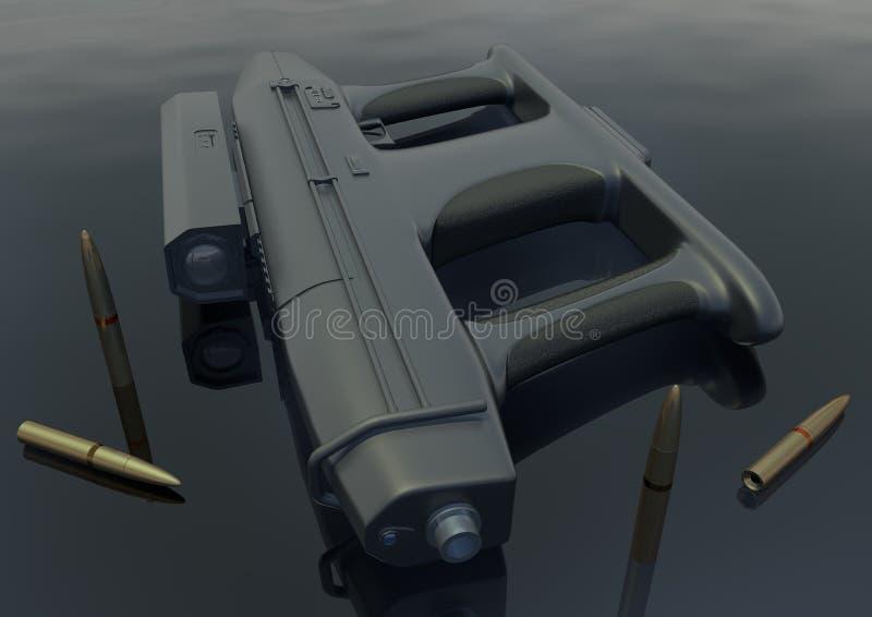 Immagine 5 della mitragliatrice leggera AM-2 immagini stock
