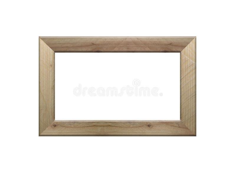 Immagine della struttura di legno isolata su bianco fotografia stock