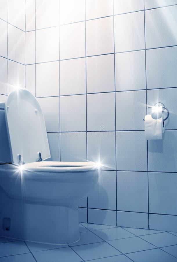 Immagine della toilette immagini stock