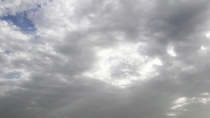 Immagine delle nuvole immagini stock libere da diritti