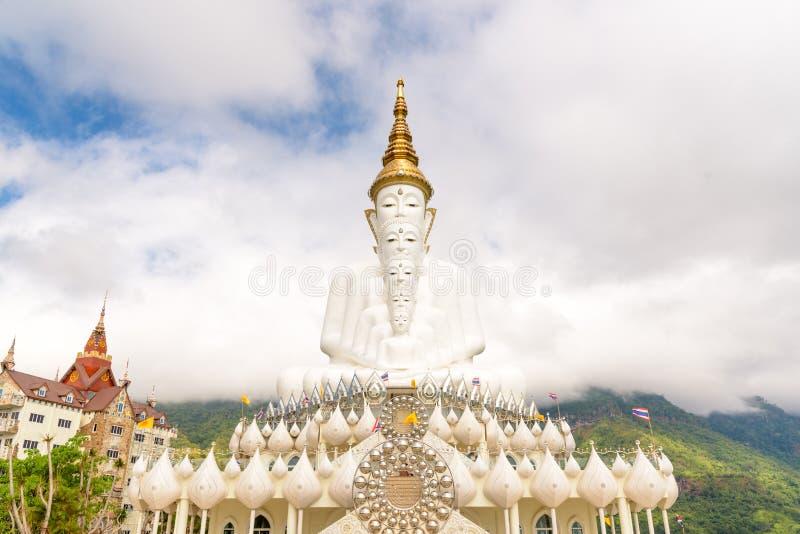 Immagine di Buddha di cinque bianchi fotografie stock libere da diritti