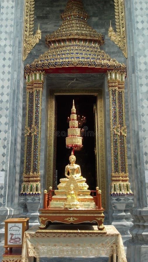 Immagine di Buddha, tempio, Bangkok, Tailandia immagini stock libere da diritti