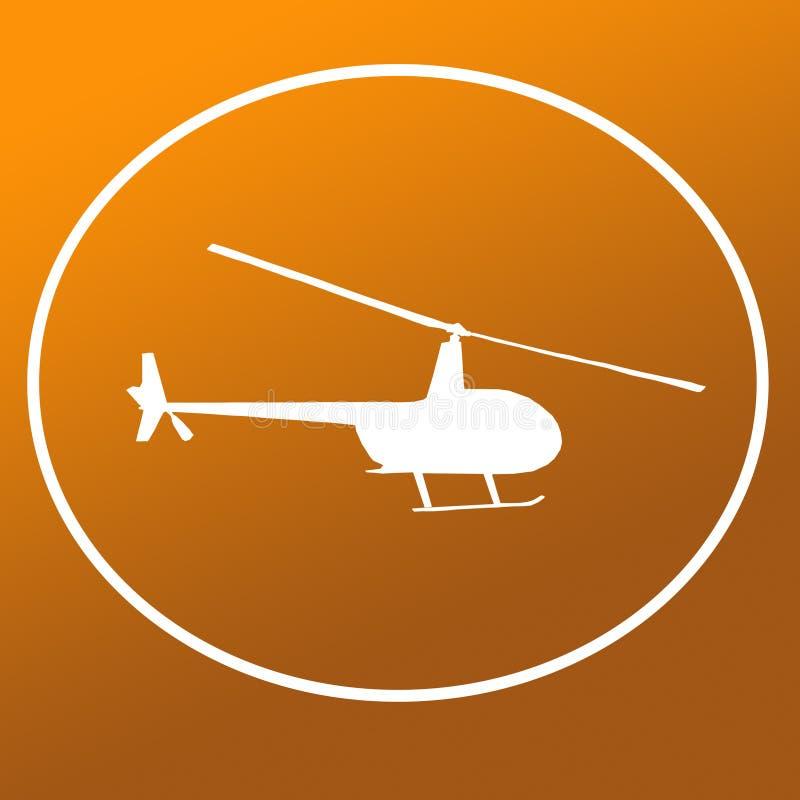 Immagine di Chopper Helicopter Logo Banner Background illustrazione di stock