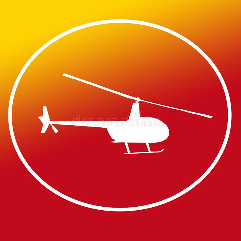 Immagine di Chopper Helicopter Logo Banner Background royalty illustrazione gratis