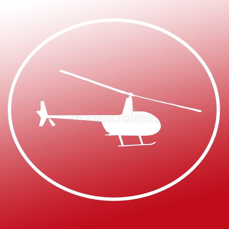 Immagine di Chopper Helicopter Logo Banner Background illustrazione vettoriale