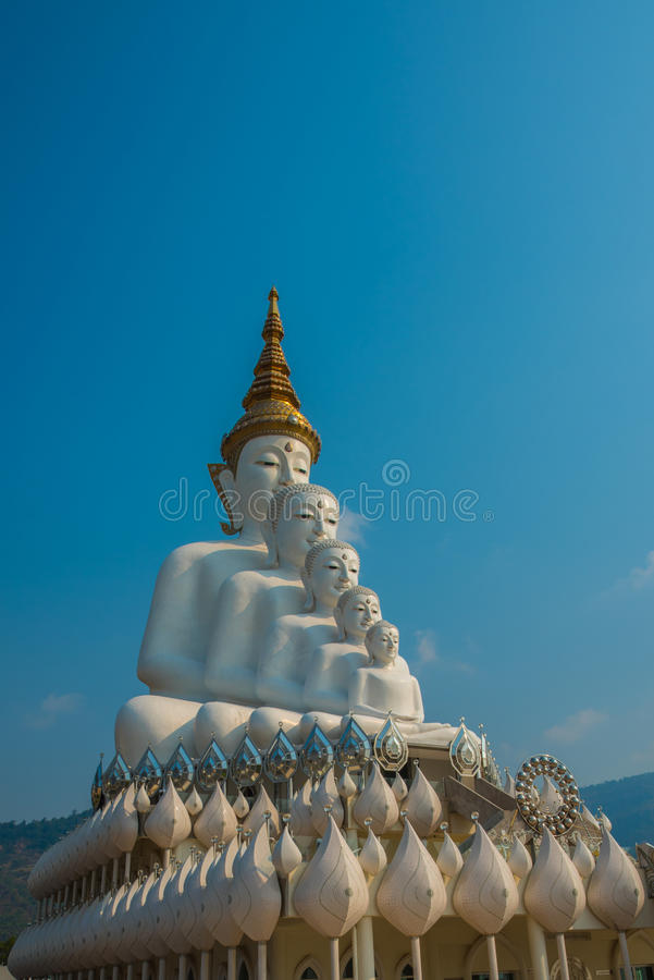 Immagine di cinque Buddha fotografia stock libera da diritti