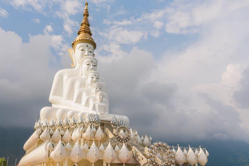 Immagine di cinque Buddha fotografie stock libere da diritti