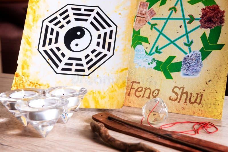 Immagine di concetto di Feng Shui immagine stock libera da diritti