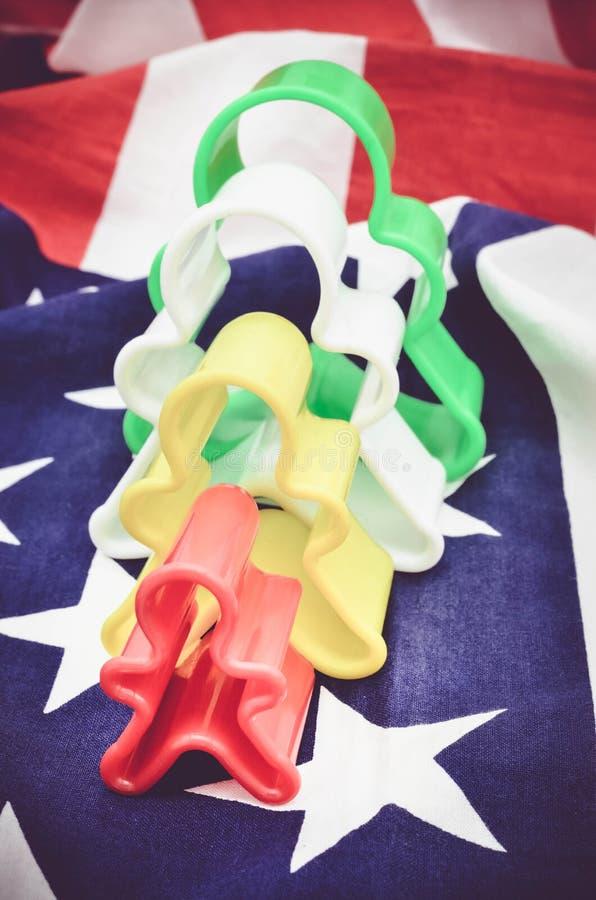 Immagine di concetto per l'elezione in America immagini stock