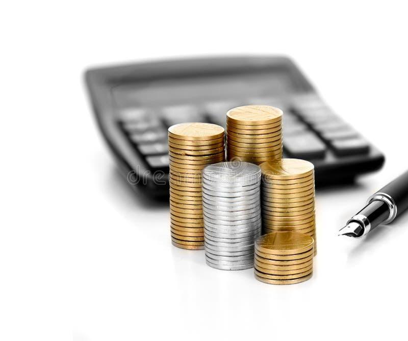 Immagine di concetto per le dichiarazioni dei redditi II immagini stock libere da diritti
