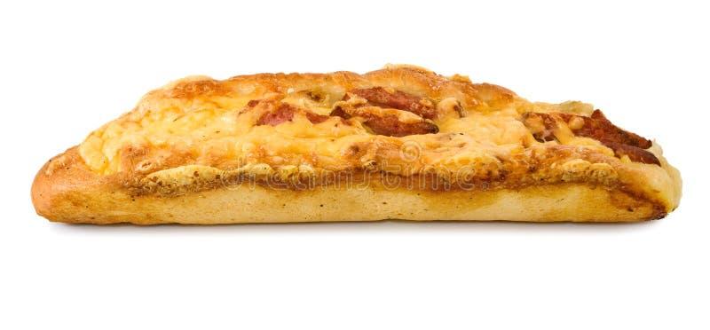 Download Immagine Di Pane Con La Salsiccia Ed Il Formaggio Fotografia Stock - Immagine di pranzo, cane: 56882188