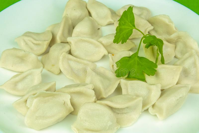 Immagine di pelemene cucinato fotografie stock