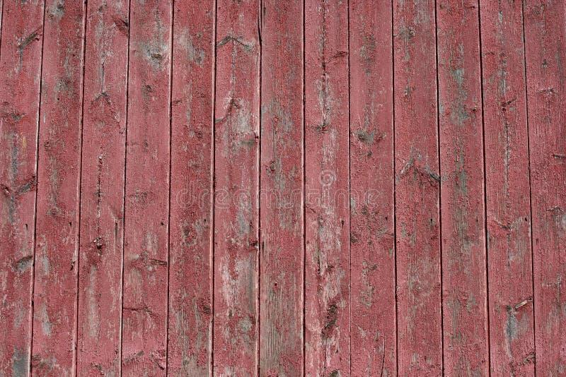 Immagine di priorità bassa di legno rossa del granaio immagini stock libere da diritti