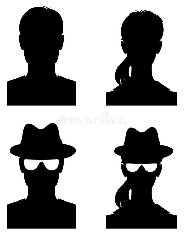 Immagine di profilo dell'avatar royalty illustrazione gratis