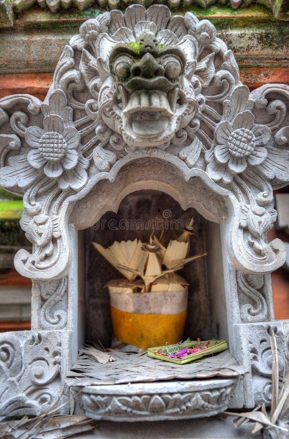 Immagine di riserva del palazzo di Ubud, Bali, Indonesia immagini stock