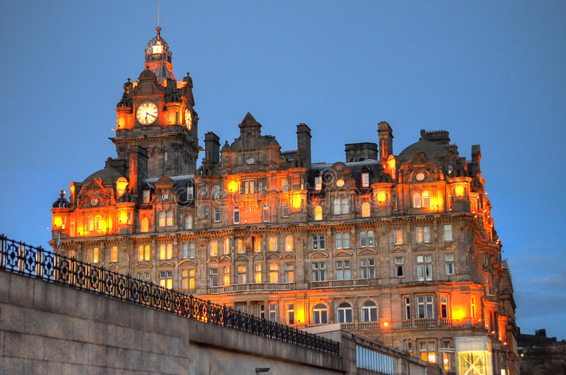 Immagine di riserva di Edimburgo, Scozia, Regno Unito fotografie stock