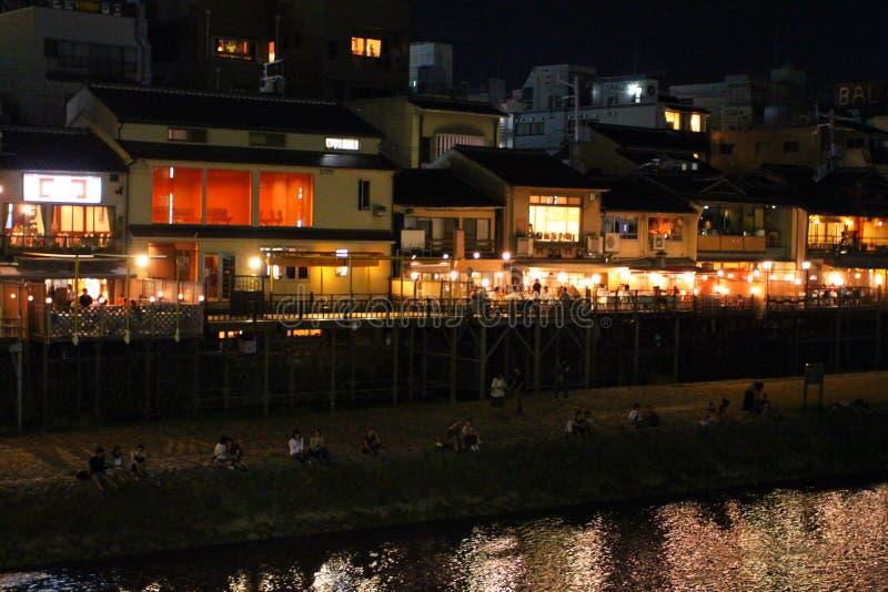 Immagine di riserva di Gion, Kyoto, Giappone fotografia stock libera da diritti