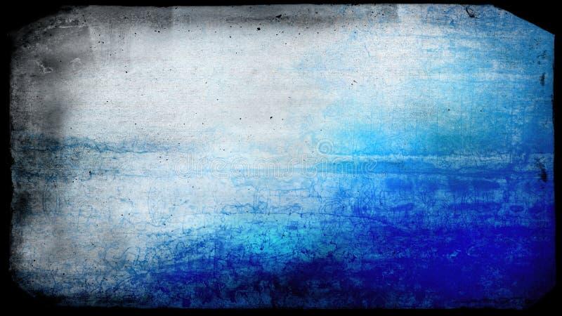 Immagine di sfondo in bianco e nero blu di lerciume immagine stock libera da diritti