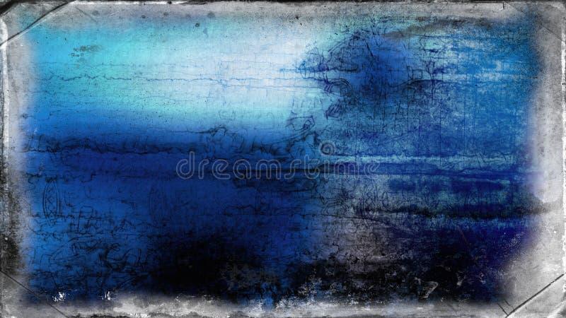 Immagine di sfondo in bianco e nero blu di struttura di lerciume fotografie stock
