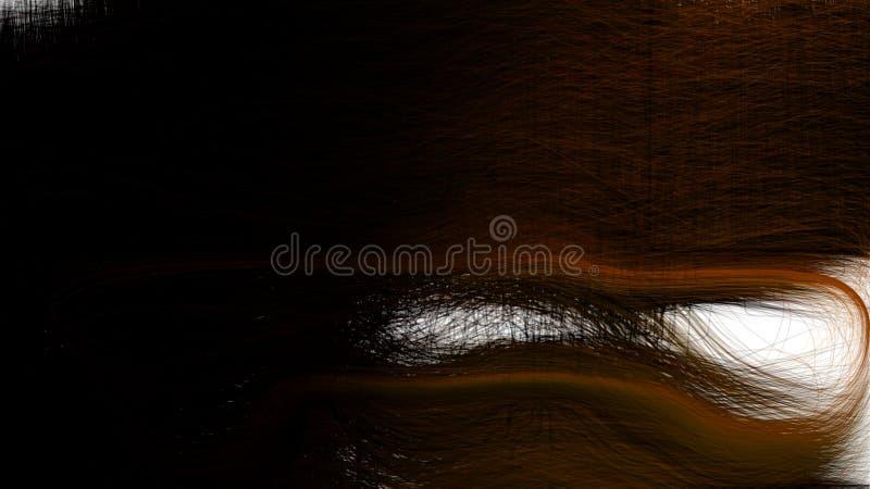 Immagine di sfondo in bianco e nero di struttura di Brown fotografia stock libera da diritti